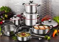 10 PIEZAS: Sistema de Cocina Familiar