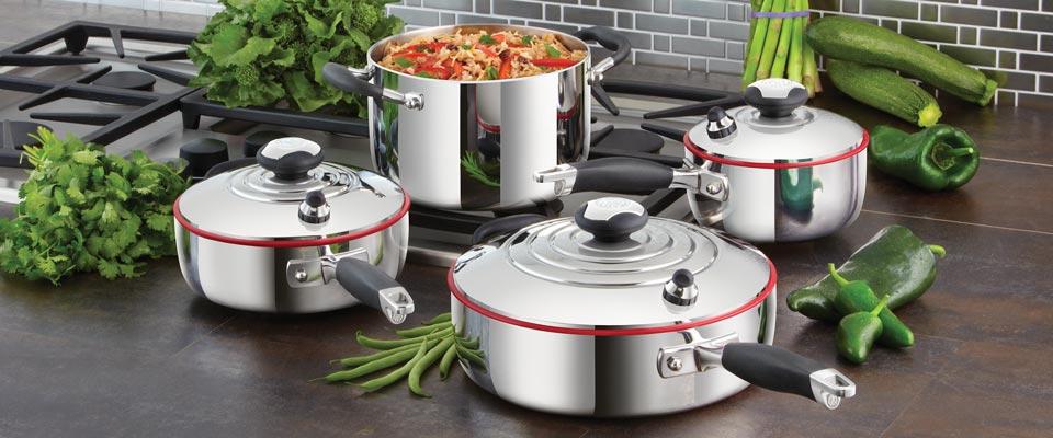 7 Piezas: Sistema De Cocina Clasico