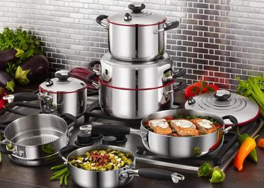 Sistema de Cocina Familiar de 10 piezas