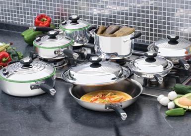 Sistema de Cocina Integral de 13 piezas