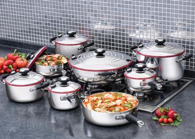 Sistema de Cocina Versátil de 15 piezas
