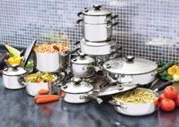 18 PIEZAS: Sistema de Cocina Deluxe