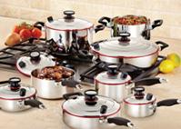 15-Peças Sistema de cozinha Supremo