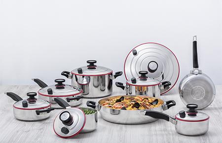 Sistema  De Cocina Profesional 15 Piezas