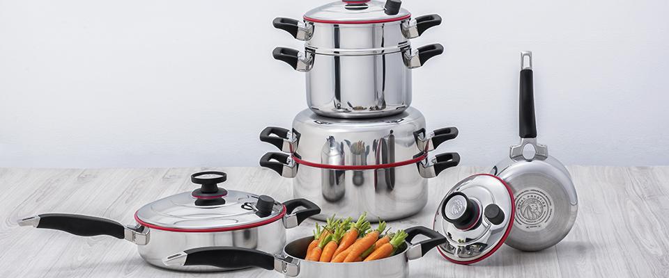 Sistema  De Cocina Familiar 10 Piezas