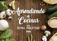 Aprendiendo a cocinar con Royal Prestige®