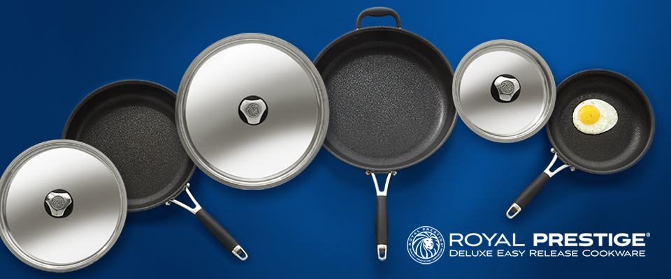 Royal Prestige® Deluxe Easy Release Cookware